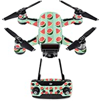 Skin for DJI Spark Mini Drone Combo - Watermelon Patch| MightySkins Protective, Durable, and Unique Vinyl Decal wrap cover | Easy To Apply, Remove, and Change Styles | Made in the USA