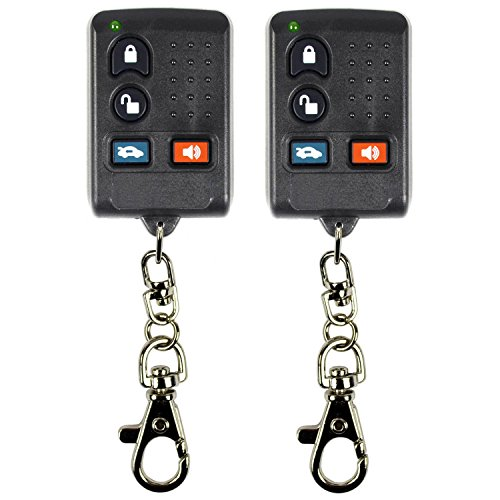 QualityKeylessPlus TWO Replacement Clone Remote Keyless Entry Key Fob for GM FCC ID ABO0104T