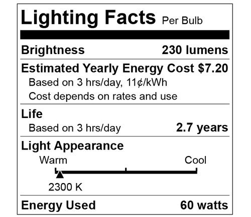 Vintage Incandescent Edison Bulb Set: 60 Watt, 2100K Warm White Edison Light Bulbs - E26 Base - 230 Lumens - Clear Glass - Dimmable Antique Exposed Filament - ST58 Decorative Lightbulbs - 4 Pack by HUDSON LIGHTING (Image #2)