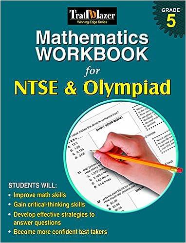 Buy Mathematics Workbook for NTSE & Olympiad Grade 5 Book Online at ...