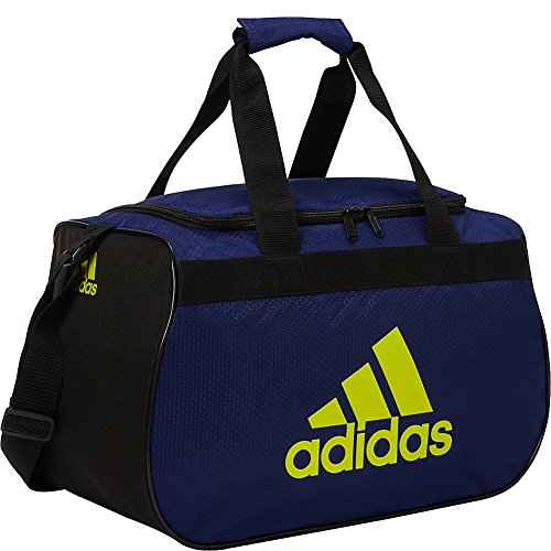 adidas Diablo Small Duffel Limited Edition Colors- Exclusive (Unity Ink / (Small Gym Bags)