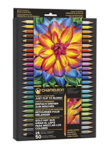 Used, Chameleon Art Products Tones Pencils, 50 Color for sale  Delivered anywhere in USA