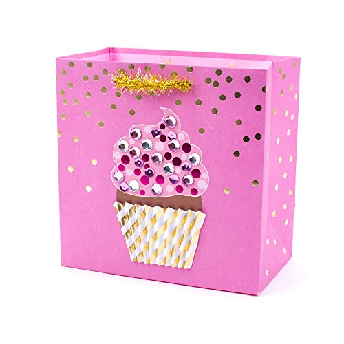 Hallmark Signature Medium Gift Bag (Cupcake)