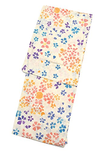 良心的組み合わせる真空[ 京都きもの町 ] 女性 浴衣 ポップフラワー ツモリチサト 注染 フリー tsumori chisato