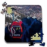 Danita Delimont - Skiing - USA, Colorado, Aspen Mountain Ski Area, Gondola - US06 WBI0008 - Walter Bibikow - 10x10 Inch Puzzle (pzl_143200_2)