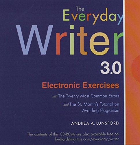 Everyday Writer - Electronic Exercises CD (Software)