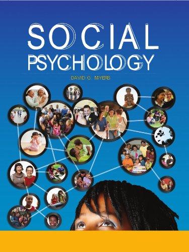Social Psychology, 11th edition