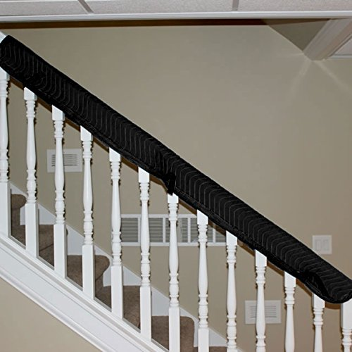 Banister Railing Cover Quilted Fabric