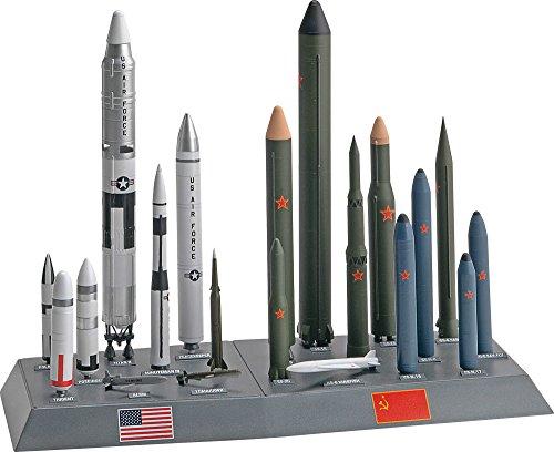 アメリカレベル 1/144 アメリカ/ソビエト ミサイルセット 7860 プラモデルの商品画像