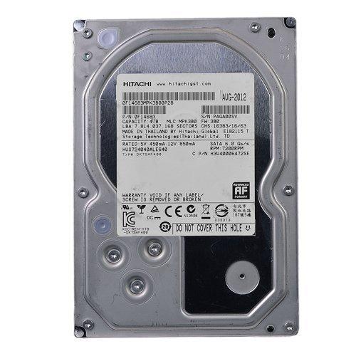 - Hitachi Ultrastar 7K4000 4 Terabyte 4TB SATA 7200RPM 64MB Hard Drive - 0F14683 (Renewed)