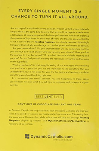 Resisting Happiness By Matthew Kelly Back Cover