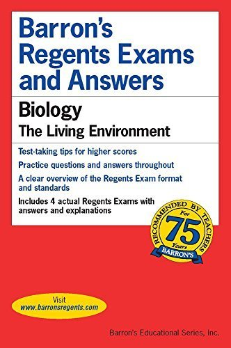 Barron's Regents Exams and Answers: Biology by G. Scott Hunter (2015-11-01)