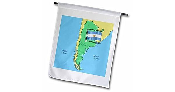 Amazon.com: 777images Banderas Y Mapas – América del Sur ...
