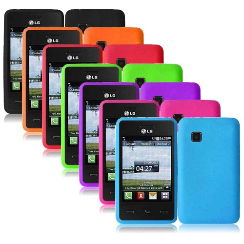 Importer520 Silicone Gel Skin Phone Protector Cover Case ...