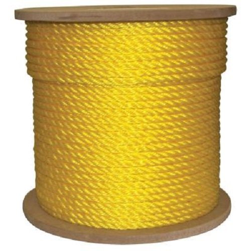 600 Foot Yellow Poly Rope - 4