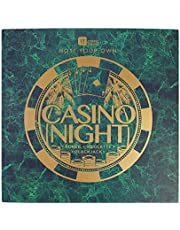 Talking Tables HOST-CASINO-V2 Casino Night Kit Host Your Own Games Night Poker, Blackjack, Roulette For Adults, After Dinner Parties, Casino Party, Christmas, Gift