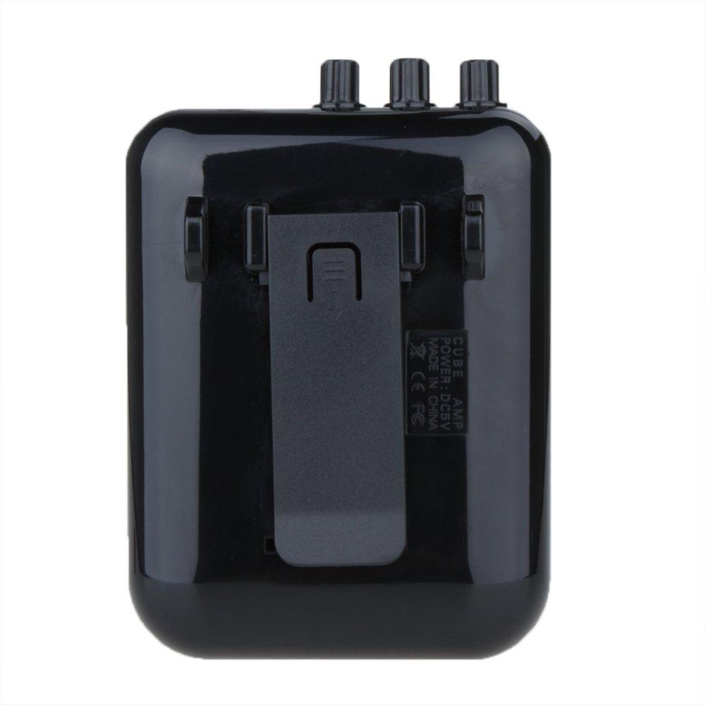 Amazon.com: PyLios(TM)Mini Electric Guitar Amp 5V 3W Portable Guitarra Amplificador Audio MP3 Player Speaker Recorder: Musical Instruments