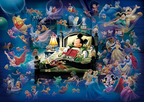 Mickey's Dream Fantasy Glow in the Dark Jigsaw Puzzle