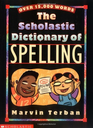 Download Scholastic Dictionary Of Spelling pdf