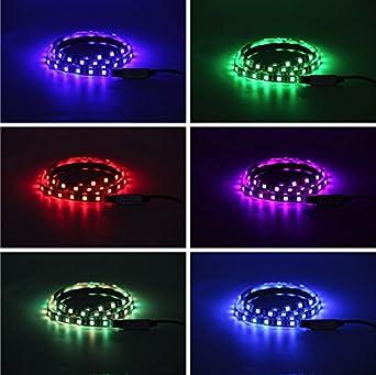 Bias iluminación para HDTV Multi RGB RGB LED Strip USB TV ...