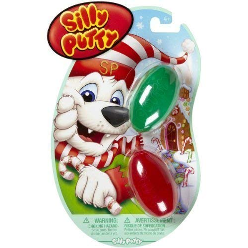 Crayola 08-0320 Silly Putty, Holiday Fun, (4-Pack of 2)