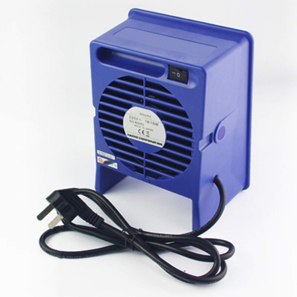 Byjia Panca Saldatore Fumi Di Saldatura Assorbitore Di Fumo Ventilatore Silenzioso Filtro Carbone Per Stazione Di Saldatura