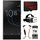 Sony XA1 16GB 5 Smartphone, Unlocked - Black (1307-4940) w/ 32GB Bundle Includes, 32GB MicroSD Memory Card, Fusion Bluetooth Headphones, VR Vue II Virtual Reality Viewer & USB Micro-B to USB-A Cable
