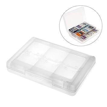 Oceanmap Blanco 28 en 1 Carta de Juego Caso Tarjeta de Memoria Aguja Caja de Almacenaje para Nintendo 3DS XL/LL DS Lite Cartucho por SamGreatWorld
