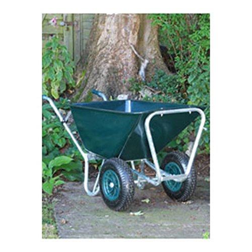 County Mammoth Duo Wheelbarrow Green 160 - 230lt
