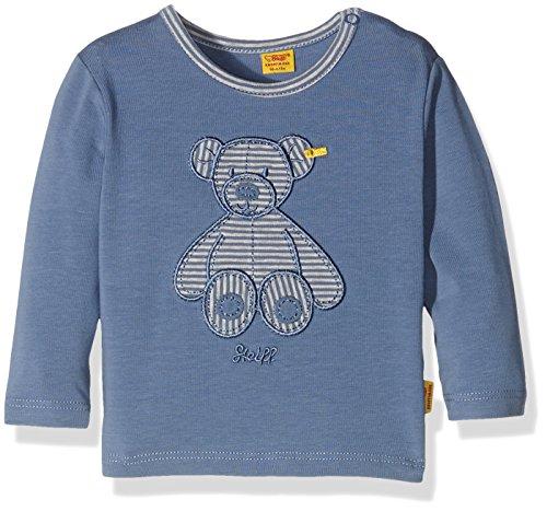 Steiff Collection Jungen T-Shirt T-Shirt 1/1 Arm, Gr. 68, Blau (moonlight blue 3820)