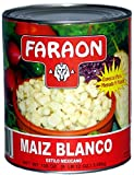 FARAON Hominy White, Mexican, 108 Ounce (Pack of 6)