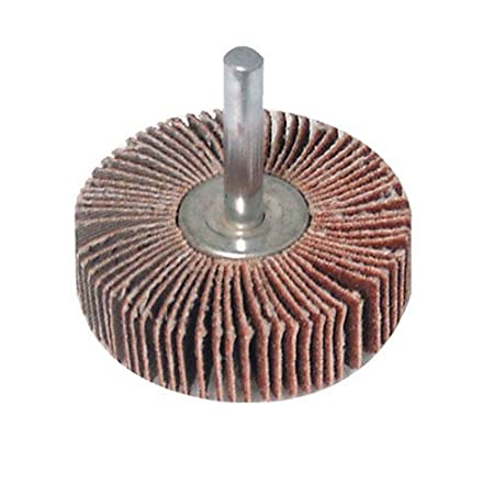 Silverline 589669 Flap Wheel, 80 mm 40 Grit SLTL4