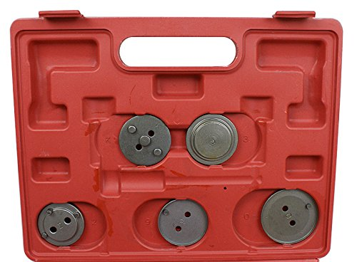 ZENY 21pcs Disc Brake Pad and Caliper Wind Back Tool Kit Set for Disk Brake Pad Replacement by ZENY (Image #4)