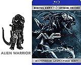 AVP Extreme Unrated Alien VS Predator Requiem Special Edition with Bonus Aliens Xenomorph mini figure
