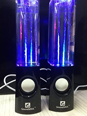 Soundsoul Music Fountain Mini Amplifier Dancing Water Speakers I-station7 Apple Speakers