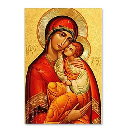 Postcard Madonna - CafePress - Blessed Virgin Mary - Postcards (Package of 8), 6