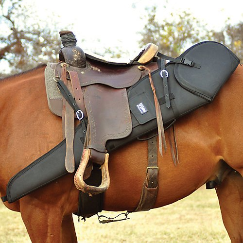 Saddle Rifle Scabbard - Cashel Rifle Scabbard Black