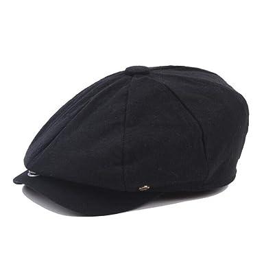 Autumn Newsboy Cap Men Women Eight-Panel Hat Cotton Linen Baker Boy Retro  Apple Hats 7e6ae2c46f1