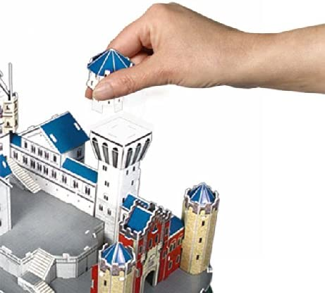 Simba 106130598-3D Puzzle Neuschwanstein