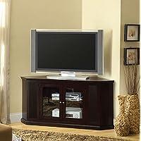 247SHOPATHOME Idf-5352-TV Television-Stands, Walnut