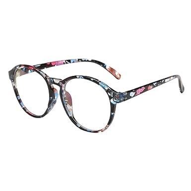 Deylaying Rétro Gros Plein Cadre Myopie Lunettes Petite vue Myope Des  lunettes Garçons Garçons -1.0 18e6ab131b9