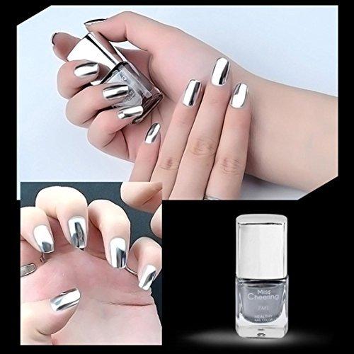 Fashion Nail (Creazy Fashion Sexy New Metallics Nail Polish Mirror Nail Polish)