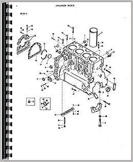 parts manual massey ferguson 165 tractor massey ferguson amazon Massey Ferguson 275 Tractor Parts Diagram parts manual massey ferguson 165 tractor plastic b 2014