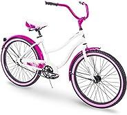 "Huffy 24"" & 26"" Beach Cruiser Bike for Men &am"