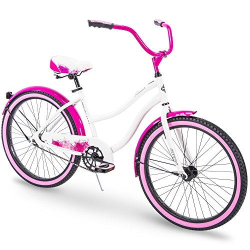 Girls Beach Cruiser Bikes - Huffy Cruiser Bike Womens & Mens, Fairmont 24-26 inch