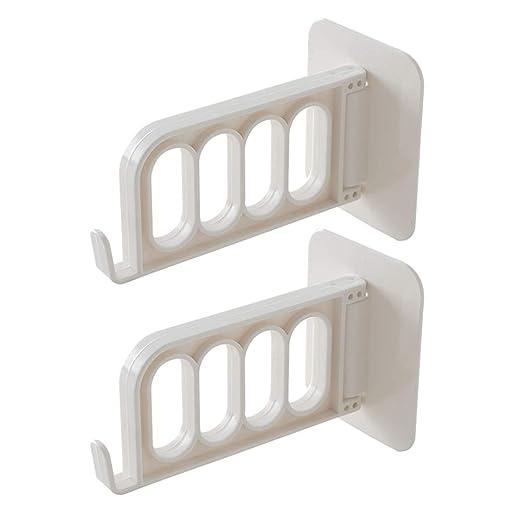 RYDS Multi-Funcional Plástico Perchero, Plegable Pared ...
