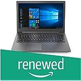 Renewed  Lenovo Ideapad 130 AMD E2 9000 7th Gen 15.6 inch HD Laptop   4  GB / 1 TB HDD / Windows 10 Home / Black / 2.1 Kg , 81H5003FIN