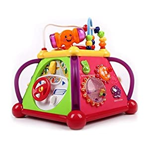 Multifunctional Learning Play Center with...