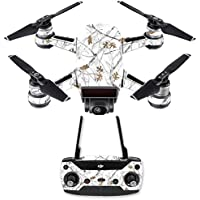 Skin for DJI Spark Mini Drone Combo - Conceal Snow  MightySkins Protective, Durable, and Unique Vinyl Decal wrap cover   Easy To Apply, Remove, and Change Styles   Made in the USA