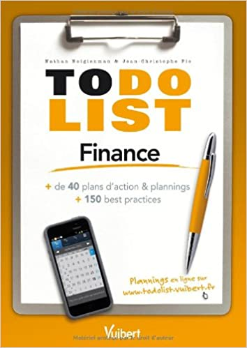 Téléchargement de manuels scolaires Finance - + de 40 plans d'action & plannings et 150 best practices PDF iBook